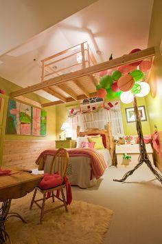 Teenage Girl Treehouse Bedroom -50 Cool Teenage Girl Bedroom Ideas of Design, http://hative.com/50-teenage-girl-bedroom-ideas-design/,