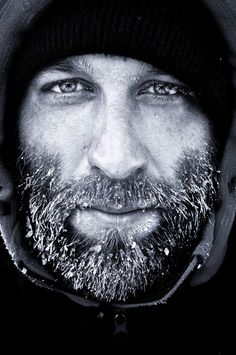 cold days (self-portrait) - Philipp Franceschini the male face great Portraits