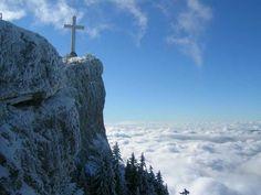 La croix du Nivolet - Savoie Grand Revard - France