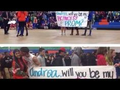 Promposal on Pinterest - clairehoffer21 - YouTube