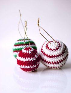 Palline di Natale all'uncinetto: schemi e spiegazioni [FOTO] | PourFemme Tempo Libero