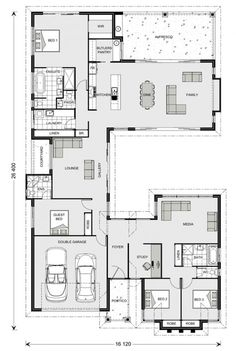 Floor Plan Friday: Separate Living Zones