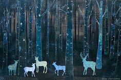 Deer in the woods illustration Illustrations, Illustration Art, Pop Art, Oh Deer, Art Design, Graphic, Fine Art Paper, Moose Art, Deer Art
