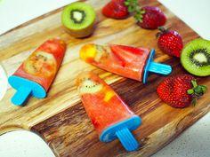 Healthy Homemade Fruit Ice Blocks | Keep Calm Get Organised