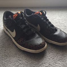 Nike Shoes  Had for about a year. Only used twice, still very clean! Nike Shoes Sneakers