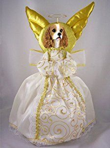 Blenheim Cavalier King Charles Angel 14 Tree Topper ** This is an Amazon Affiliate link. For more information, visit image link.