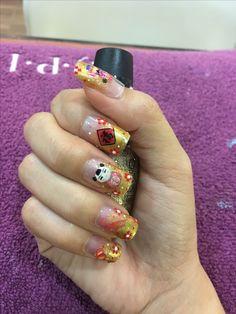 Oriental crazy nail