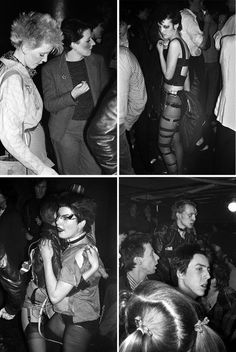 Punks at The Roxy Club, London, 1977. Photos by Derek Ridgers.