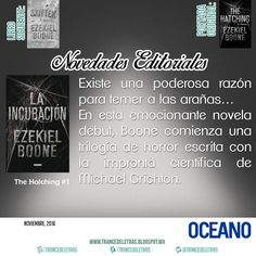 """""""La Incubación"""" (The Hatching #1) de Ezekiel Boone"""