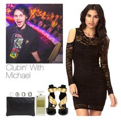 """Clubin' With Michael"" by hana-69 ❤ liked on Polyvore featuring Forever 21, Giuseppe Zanotti, Jil Sander and CC"