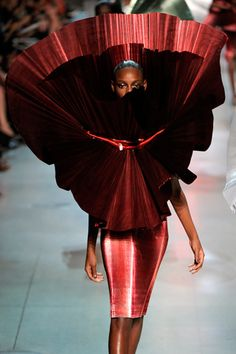 Paris Fashion Week Spring 2012--Paco Rabanne (His designs are obviously known for their functionality. lololol.)