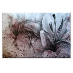Lilies, Drawing by Olena Kosenko | Artist Lane