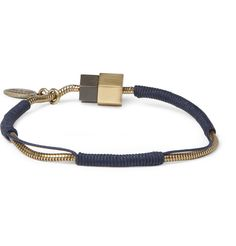 Lanvin Metal and Cord Bracelet @ $295
