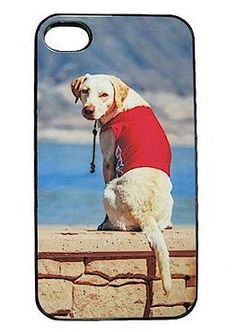 Delight the log lover in your life this Christmas with the Personalized iPhone Case for Dog Lovers that can be easily customized with their favorite snapshot of their furry friend.