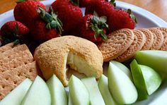 Lemon Cheesecake Cheese Ball! Fast, easy, perfect light finger-food dessert for a party!