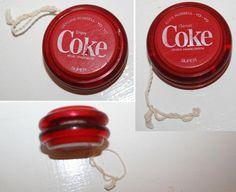 Rare Coca Cola Items | rare RUSSELL COCA COLA COKE SUPER YO-YO YOYO 1980s South Africa issue