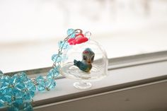 Sweet+Blue+Bird+necklace+by+lepetitebonbon+on+Etsy,+$30.00
