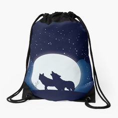 #backpack #drawstringbag #bag #kidsbag #giftforgirl #giftforher #accessories #womensaccessories #womanfashion#wolf#wolves