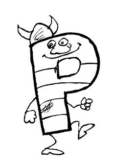 coloring page Alphabet with funny letters on Kids-n-Fun. Coloring pages of Alphabet with funny letters on Kids-n-Fun. More than coloring pages. At Kids-n-Fun you will always find the nicest coloring pages first! Alphabet Coloring Pages, Cool Coloring Pages, Coloring Books, Funny Letters, English Letter, Letters And Numbers, Symbols, Kids, Tours