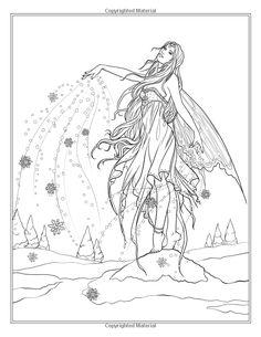 Festive Magic - Fantasy Christmas Coloring Book (Fantasy Coloring by Selina) (Volume 12): Selina Fenech: 9780994585264: Amazon.com: Books