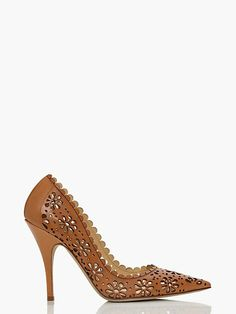 kate spade new york, shoes summer 2014 perforated leather pump