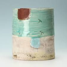 Can almost smell sea air and feel the sun looking at this gorgeous pot by Craig Underhill