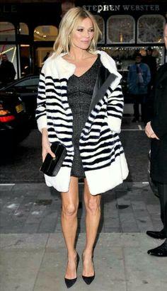 Kate moss winter look #Fashionicon