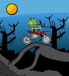 Ayuda a este chico zombies en manejar su moto capturando helados de varios sabores. http://www.ispajuegos.com/jugar7719-Zombie-Baby-Biker.html