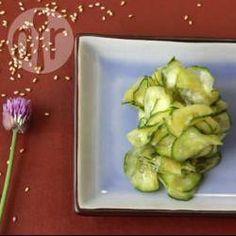 Japanse komkommersalade @ allrecipes.nl