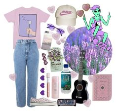 """""""Untitled #28"""" by liltingaway on Polyvore featuring Fabergé, RIPNDIP, Topshop, Vans, TONYMOLY, L. Erickson, Olympia Le-Tan and Chanel"""