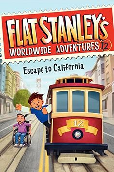 Flat Stanley's Worldwide Adventures #12: Escape to California by Jeff Brown http://www.amazon.com/dp/0062189905/ref=cm_sw_r_pi_dp_lXGWwb0V2T8CT