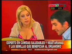 Pablito Martin con Anabela Ascar hablando sobre las semillas
