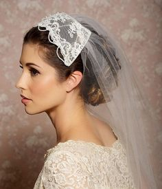 lace vail cap - Yahoo Image Search Results