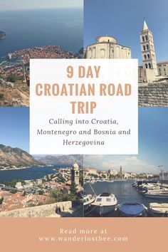 Read all about our road trip visiting Montenegro, Croatia and Bosnia and Herzegovina. It took us 9 days visiting 6 cities along the way read our itinerary. One of my favourite trips in Europe so far! Click to read more..