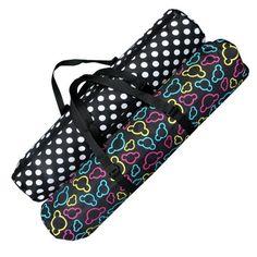 JIUY Breathable Yoga Backpack Yoga Mat Bag Waterproof Backpack Nylon Pilates Carrier Adjustable Strap Sport Tool black/&white /& white dot