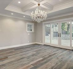Home refurbishment can completely give a facelift to an otherwise old-looking house. Best Secrets Home Renovation Remodel Your Living Space Ideas. Home Renovation, Home Remodeling, Doors And Floors, The Doors, Grey Flooring, Flooring Ideas, Grey Hardwood Floors, Gray Wooden Floors, Design Case
