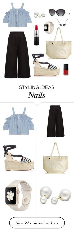 """""""Exploring cobbled streets"""" by brie-treasure-hilder on Polyvore featuring Noon by Noor, Missoni Mare, Steve J & Yoni P, Oasis, Bulgari, MAC Cosmetics, Allurez and NARS Cosmetics"""