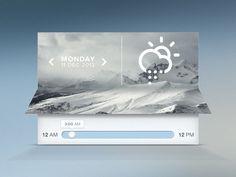 weather widget 2013-12-13その八 图片再p下 做出如此效果略赞