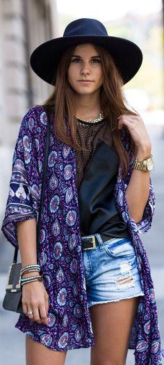 The Kimono paisly