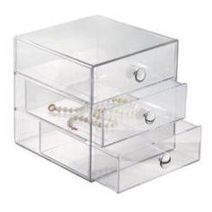 Inter Design InterDesign 3-Drawer Multipurpose Storage Container with Knobs