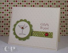 Stampin' Up Cheers-to-You Perfect Polka Dot Embossing Folder