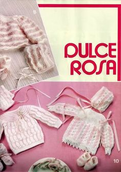 Chambritas para bebés (patrones para Cony) Baby Knitting, Crochet Baby, Knit Crochet, Baby Patterns, Crochet Patterns, Christmas Stockings, Crochet Necklace, Album, Holiday Decor