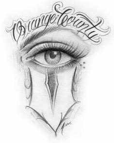 Chicano Art Tattoos, Chicano Drawings, Badass Drawings, Chicano Lettering, Graffiti Lettering Fonts, Body Art Tattoos, Tattoo Sketches, Tattoo Drawings, Art Sketches