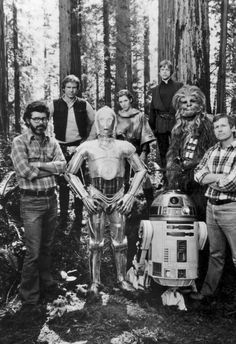 STAR WARS: 50 Behind The Scenes Photos from RETURN OF THE JEDI