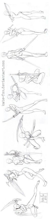 I found some of these poses to be cool