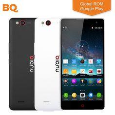 "Original ZTE Nubia Z7 Max 32GB ROM Mobile Phone 5.5"" 1920*1080P Snapdragon 801 Quad Core 2GB RAM 13MP Android 5.1 Smartphone"