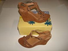 WOMEN FASHION SHOES STYLE PLATFORM & WEDGE H.H 4.5 INCHES COLOR TAN(SPRING SALE) | eBay