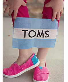 AMARA | Boutique, Toms, little girl toms, tiny toms, kids toms, pink toms shoes