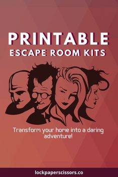 Transform your party into a mysterious escape room using a ready-to-play game kit. All of the fun. None of the stress. Escape The Classroom, Escape Room For Kids, Escape Room Puzzles, Party Activities, Fun Activities For Kids, Classroom Activities, Party Games, Babysitting Games, Escape Room Challenge