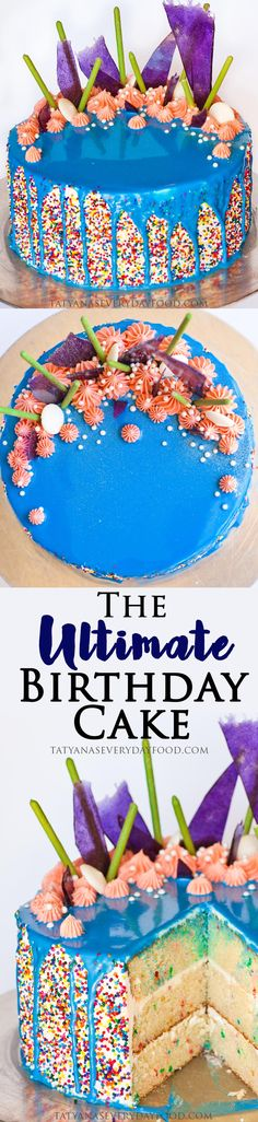 I love celebrating birthdays and the special day calls for a special cake! My ultimate birthday cake is an over-the-top, crazy-looking, ocean and coral inspired creation! I enjoyed adding all the little details like the rainbow sprinkles, blue ganache and the purple sugar crystal. If you're looking for a creative birthday cake, try making this […]